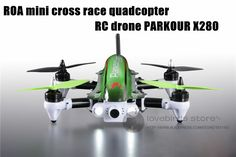 369.27$  Buy here - http://alib35.worldwells.pw/go.php?t=32599912009 - The newest 2.4G RC mini drone ROA FPV racing folding quadcopter with camera 6 channels PARKOUR X280 RTF QAV250
