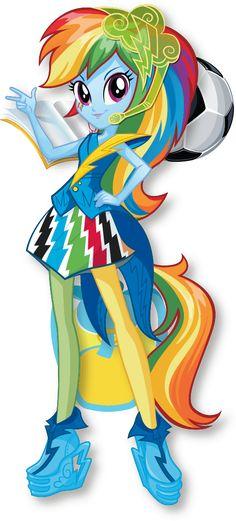 Rainbow Dash | MLP: Equestria Girls Character Bio | Rainbow Rocks