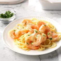 Need shrimp dinner recipes? Get shrimp dinner recipes for your next meal or dinner from Taste of Home. Taste of Home has shrimp dinner recipes including easy shrimp dinner recipes, shrimp main dishes, and more shrimp dinner recipes and ideas. Shrimp Recipes For Dinner, Fish Recipes, Seafood Recipes, Pasta Recipes, Cooking Recipes, Cooking Ideas, Food Ideas, Seafood Meals, Cajun Cooking