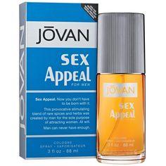 Sex Appeal/Jovan Cologne Spray 3.0 Oz (M), 3 Ounce