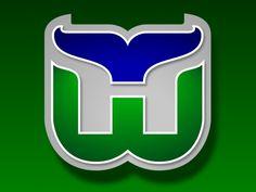 Hartford Whalers ~ favorite NHL logo ever
