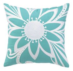 Calypso Azul Turquoise Pillow