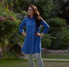 Simple Pakistani Dresses, Pakistani Fashion Casual, Pakistani Dress Design, Pakistani Outfits, Muslim Fashion, Stylish Dresses, Casual Dresses, Fashion Dresses, Women's Fashion