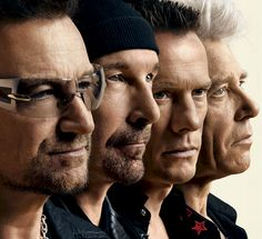 A New Irish Hospice Foundation book will feature the members of U2