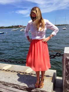 All Dressed Up, Everywhere To Go: Coral Midi