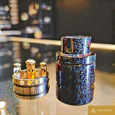 Check out the Limitless Dripper @ https://vapel1fe.com/products/limitless-drippers we have them in stock online and in both locations! 3 Post design, also have color changing models as well.
