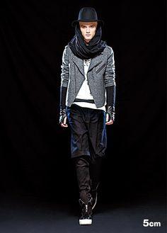 5cm Winter 2012 Men's Collection
