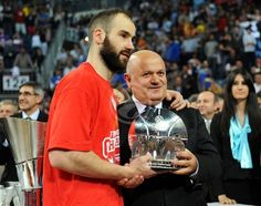 MVP of Euroleague Final Four Vassilis Spanoulis #Olympiacos