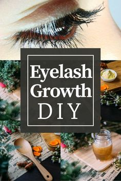 EYELASH GROWTH DIY Check out our DIY Eyelash Gorwht Serum that only requires 3 ingredients!! So simple yet so effective at growing eyelashes longer and fuller!!