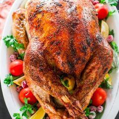 Lemon Garlic Pork Roast - Jo Cooks Oven Baked Chicken Thighs, Baked Chicken Breast, Turkey Recipes, Chicken Recipes, Shrimp Recipes, Roasted Chicken And Potatoes, Mashed Potatoes, Beef Barley Soup, Jo Cooks