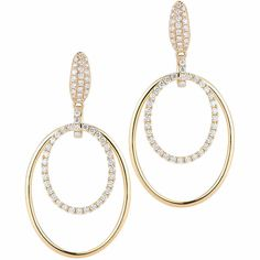 $1,399.99   Round Brilliant 0.85 ctw VS2 Clarity, I Color Diamond 14kt Yellow Gold Earrings