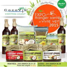 Expo Manger Santé et Vivre Vert | alimentation saine