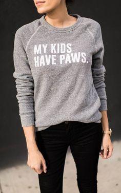 My Kids Have Paws Sweatshirt