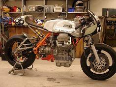 Moto scandi very technotronic moto guzzi racer