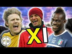 Funniest Footballers XI   Podolski, Balotelli & Müller