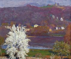 Pear Tree de Daniel Garber (1880-1958, United States)