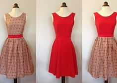 Sewing tutorial Archives « By Hand London By Hand London. ---Great tutorial for a dress. You can mix & match the bodice with different skirt styles. So many possibilities.