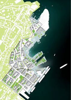 Waterfront site plan