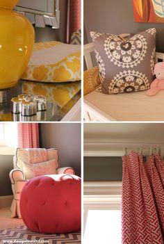 Design Lines Pink, Yellow, Gray Nursery Raleigh NC