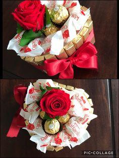 Schokolade- Riegel DIY Gift Torte You are in the right place about birthday crafts fun Here we offer Valentines Bricolage, Valentines Diy, Valentine Day Gifts, Saint Valentin Diy, Chocolate Bouquet, Chocolate Diy, Candy Crafts, Gift Cake, Diy Bar