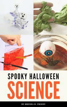 Kids will have a blast with these Halloween science experiments! Spooky Halloween science has never been as fun or easy as it is in this printable Halloween activity book! Math Activities For Kids, Science Activities For Kids, Science Projects, Preschool Projects, Science Ideas, Preschool Ideas, Kindergarten Science Experiments, Preschool Science, Teaching Science
