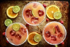 Happy Cinco De Mayo!!!!! Oh wait, it's also my favorite: Thirsty Thursday! So for you, my friends, I am sharing Orange Raspberry Margaritas! Not only delicious, but SOOOOO pretty! These are easy, and they are going to rock your cinco de mayo, tequila drinking world. I love that you can just make a quick puree …
