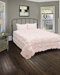 Fingerhut - Rizzy Home Plush Dreams 3-Pc. Comforter Set - King