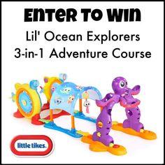 Giveaway! Little Tikes Lil' Ocean Explorers 3-in-1 Adventure Course ~ Planet Weidknecht