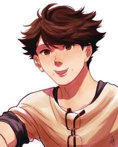 ceejles: I drew him again but with freckles this... | Peach Tickle Whats