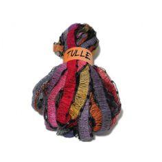 Tulle per sciarpe, 90% acrilico – 10% poliammide