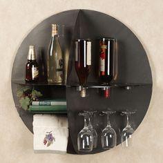 wine shelf divided wall shelf wine bar rustic brown