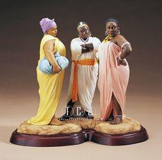 Ebony Visions - Oh No, She Didn't! Signed - View Ebony Visions by Thomas Blackshear Art Gallery.