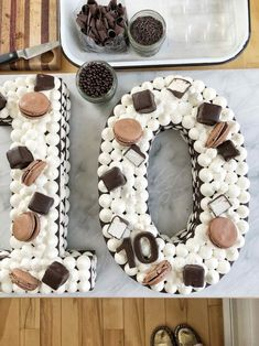 How to make a Chocolate Icebox Number Cake - Simple Bites Chocolate Wafers, Mini Chocolate Chips, Cake Recipes, Dessert Recipes, Desserts, Chess Cake, 10 Birthday Cake, Sweetened Whipped Cream, Number Cakes
