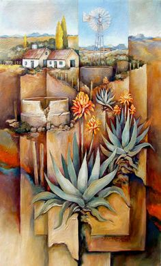 Artwork of Peter Wooldridge exhibited at Robertson Art Gallery. Original art of more than 60 top South African Artists - Since South African Art, Tree Artwork, Floral Drawing, African Artists, Landscape Artwork, Love Art, Painting Inspiration, Watercolor Paintings, Art Drawings