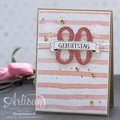Geburtstagskarte - Birthday Card - Stampin' Up! - Global Design Project - So viele Jahre ❤︎ Stempelwiese