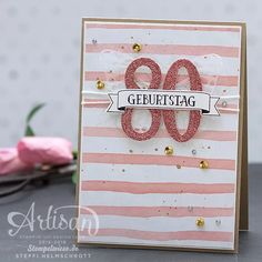Geburtstagskarte - Birthday Card - Stampin' Up! - Global Design Project - So viele Jahre ❤︎ Stempelwiese