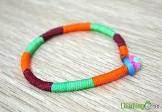 Button Knots Instructions- Simple Decorative Knots for Buckling Friendship Bracelets - Pandahall.com