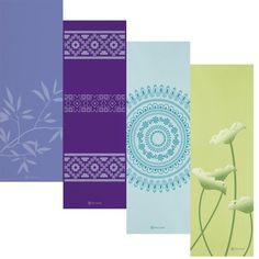 Gaiam Print Premium Yoga Mats (5mm), either the flower or leaf one