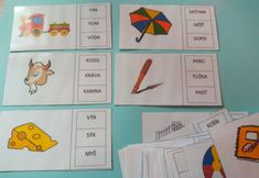 Produkt - Čtení slov s porozuměním (genetická metoda čtení) Montessori, Advent Calendar, Playing Cards, Holiday Decor, Advent Calenders, Playing Card Games, Game Cards, Playing Card