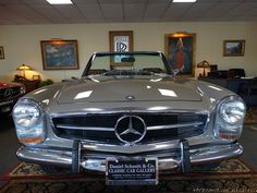 1969 MERCEDES-BENZ 280SL ROADSTER SPECTACULAR CONDITION! ONLY 1-OWNER FROM NEW! GORGEOUS COLOR COMBINATION! 36,782 DOCUMENTED ACTUAL MILES! FULL SERVICE HISTORY FROM NEW! ORIGINAL WINDOW STICKER, BILL OF SALE, DATA CARD & MORE! RARE AND DESIRED...