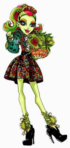 All about Monster High: Gloom & Bloom Cleo De Nile & Venus McFlytrap artworks