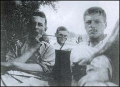 Lewis in left, with friend, Earnest Moore, during WWI. Moore would later be killed, as were many of Lewis's friends. Famous Faces, Famous Men, Famous Celebrities, Wit And Wisdom, Cs Lewis, World War One, Secret Life, British History, Wwi