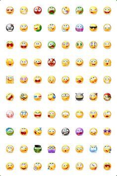 22 Skype And Facebook Emoticons For Inspirations - Designurge