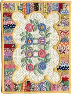 Cute 30s style small quilt