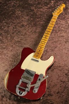 Fender Custom Shop Master Builder Series 1950's Telecaster Relic Candy Apple Red nuilt by Yuriy Shishkov