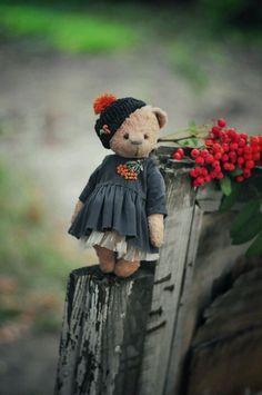 Cute Teddy Bear | Купить Рябинка в интернет магазине на Ярмарке Мастеров