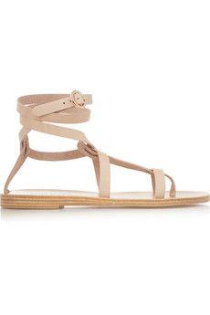 Valia Gabriel Sandy Cay leather sandals | NET-A-PORTER