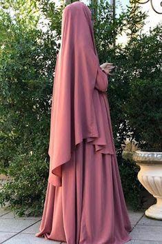 Abaya Designs, Hijabi Girl, Girl Hijab, Moda Hijab, Abaya Mode, Hijab Stile, Hijab Style Dress, Niqab Fashion, Muslim Women Fashion