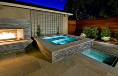 Backyard Landscaping Design And Style Concepts-Remarkable Near Swimming Pool Fireplaces | HGTV Decor