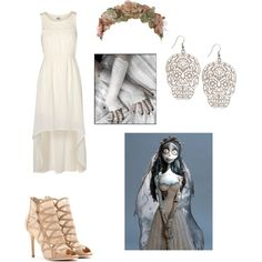 corpse bride inspired outfit - Pesquisa Google